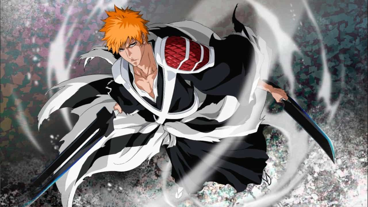 a character with sword from bleach anime