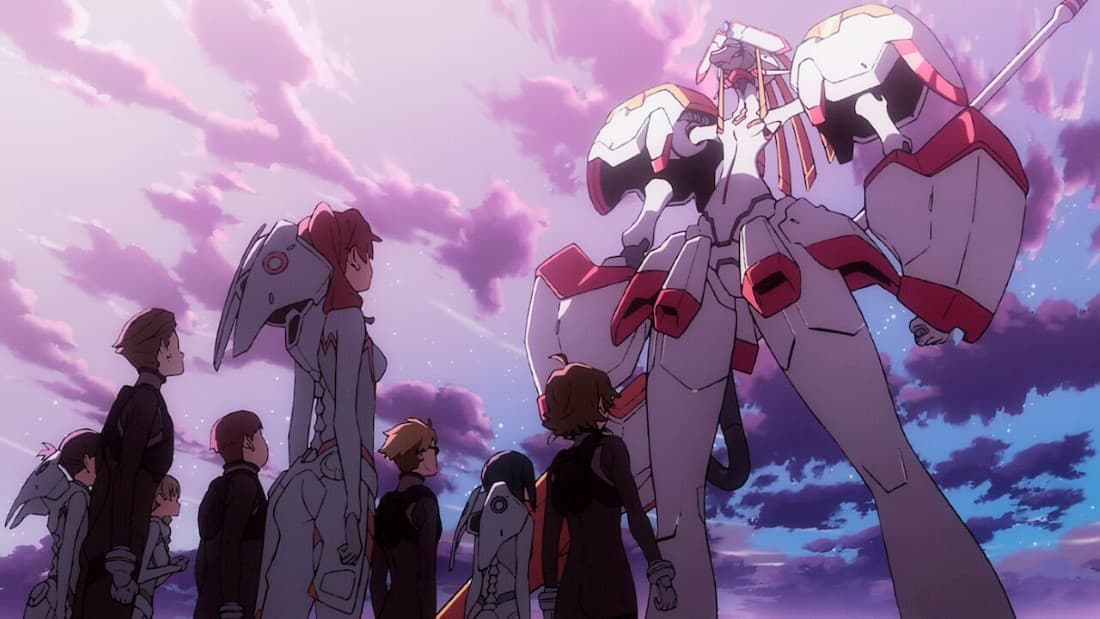 everything we know about darling in the franxx  so far