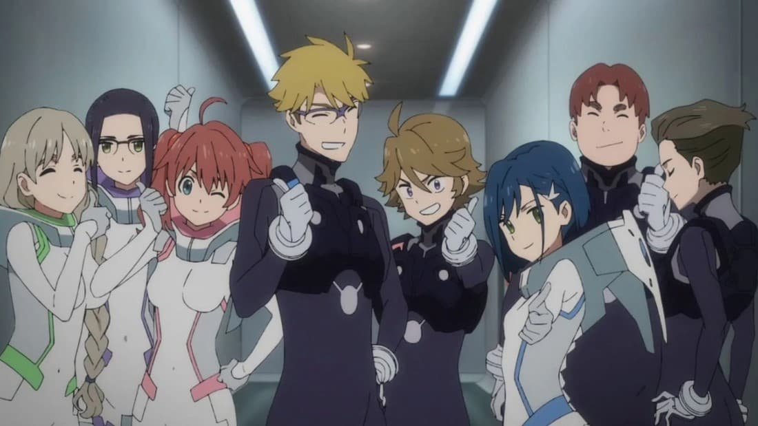 darling in the franxx characters